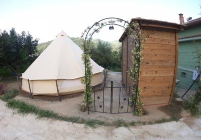 Campeggio Bungalow Gole Alcantara Mini Glamping Lanternavacanze